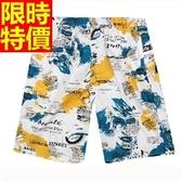 海灘褲-衝浪防水隨性帥氣有型極簡男短褲子4色54q43【時尚巴黎】