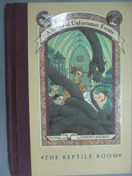 【書寶二手書T5/原文小說_GIC】The Reptile Room_Lemony Snicket