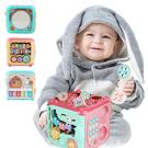 兒童益智六面盒玩具音樂燈光手拍鼓手敲琴六面屋