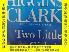 二手書博民逛書店two罕見little girls in blue(英文原版小說
