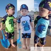 嬰兒泳褲0-3游泳館專用嬰幼兒童泳衣防水防漏男童男寶寶1歲2歲3歲 韓慕精品