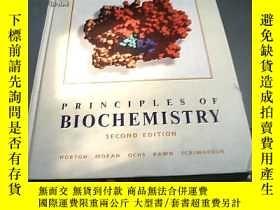二手書博民逛書店PRINCIPLES罕見OF BIOCHEMISTRY【架27-