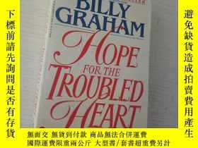 二手書博民逛書店HOPE罕見FOR THE TROUBLED HEARTY953