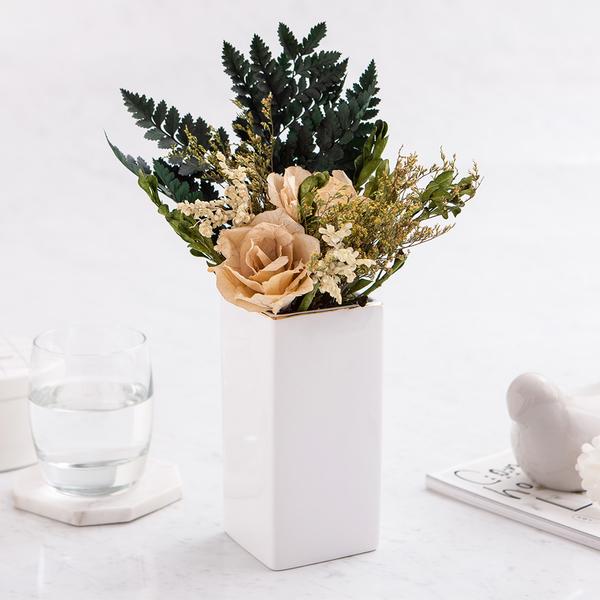 原味生活長型花瓶H15-生活工場