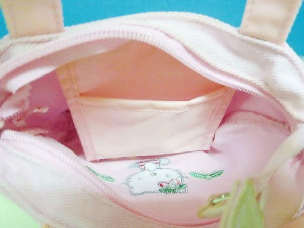 【震撼精品百貨】Hello Kitty 凱蒂貓~迷你手提袋『粉底櫻桃』