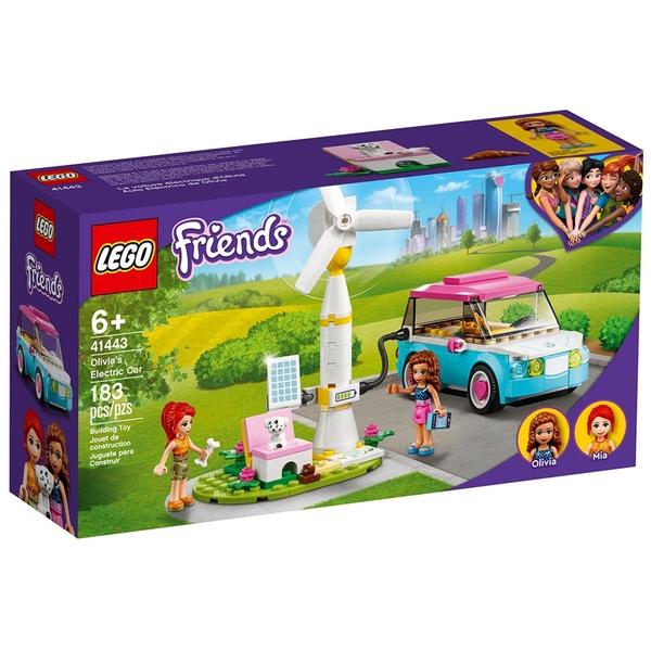 LEGO樂高 Friends系列 奧麗薇亞的電動車_LG41443