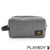 PLAYBOY- 萬用包 率真系列-質感灰
