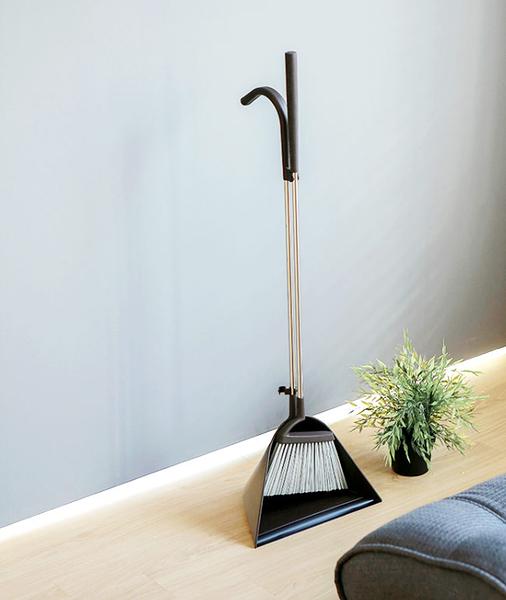 日本tidy簡約設計掃把畚斗組
