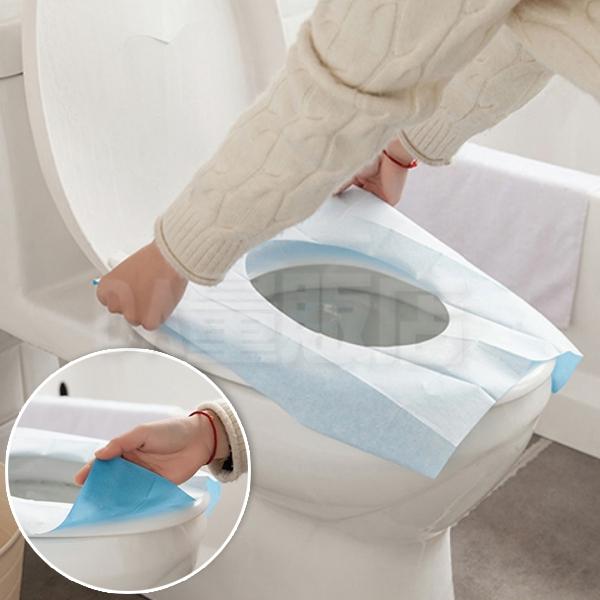 馬桶墊 一次性馬桶墊 5入一組 拋棄式馬桶坐墊 獨立包裝 防水 隔菌 馬桶坐便墊 坐廁紙 衛生馬桶套
