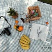 日式野餐墊防潮墊便攜草坪墊子田園野餐布【時尚大衣櫥】
