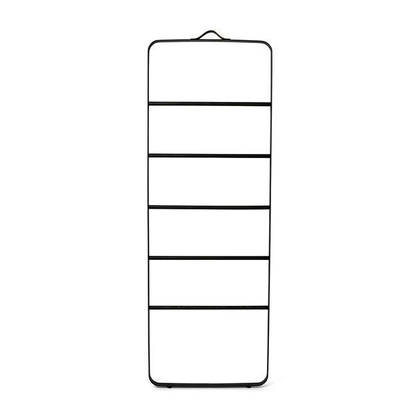 丹麥 Menu Towel Ladder 雲梯 階梯式 毛巾架(黑色金屬框架 - 深色木梯)