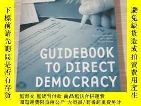 二手書博民逛書店GUIDEBOOK罕見TO DIRECT DEMOCRACYY2