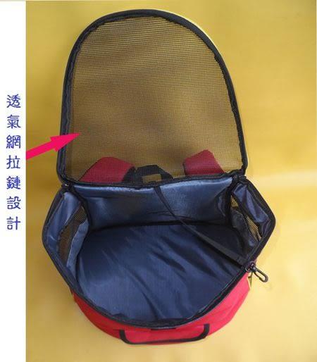 [寵飛天商城]  寵物外出背包 狗狗提袋 雙肩背包/寵物胸前包 && (藍色素面)