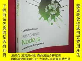 二手書博民逛書店Smashing罕見Node.js: JavaScript Ev