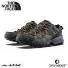 【The North Face 男 DryVent防水健行鞋《黑/綠》】46CJ/徒步鞋/登山鞋/越野鞋/防水鞋