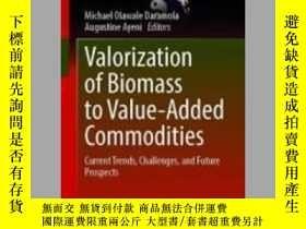 二手書博民逛書店【罕見】Valorization of Biomass to Value-Added CommoditiesY