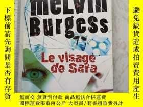 二手書博民逛書店Le罕見visage de sars 法文法語法國Y385290 Melvin Burgess Gallima