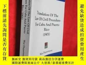二手書博民逛書店Translation罕見Of The Law Of Civil