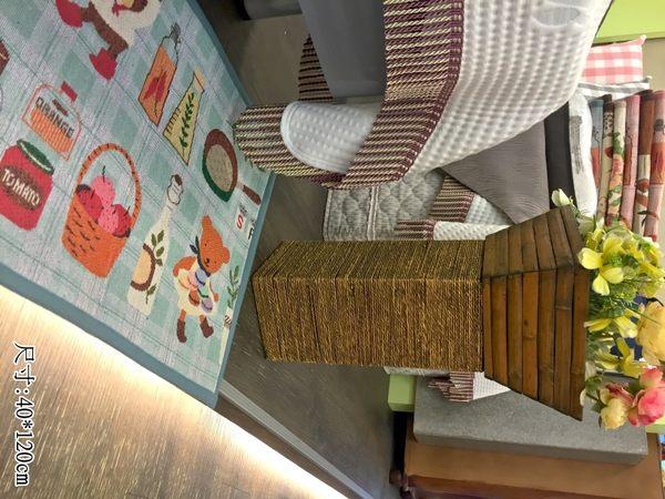 【幸福廚房】蒂芬妮綠/合家歡˙長門墊、地墊(反面採用止滑噴膠˙超止滑)45*120cm˙御元居家