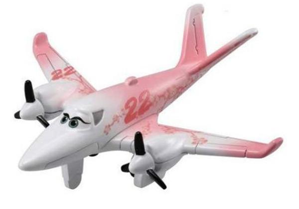 【震撼精品百貨】汽車總動員_Cars~TOMICA 飛機總動員 Planes2 P-09 雪兒#48603