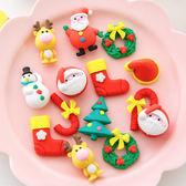 【BlueCat】聖誕節花圈雪人裝飾品橡皮擦