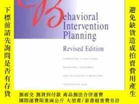 二手書博民逛書店Behavioral罕見Intervention Planning: Completing A Functiona