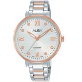 ALBA雅柏輕熟時尚女錶 VJ21-X155KS AH7T40X1 雙色