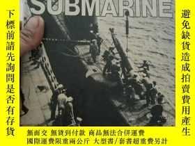 二手書博民逛書店The罕見American SUBMARINE 美軍的潛艇【16