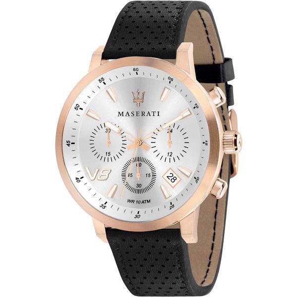 ★MASERATI WATCH★-瑪莎拉蒂手錶-2018年新款-皮錶帶-R8871134001 -錶現精品公司-原廠正貨-