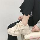 老爹鞋 透氣老爹鞋女 2019夏季新款ins百搭運動鞋 超火智熏網紅小白鞋子潮