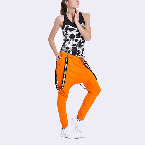 TOUCH AERO 印花長款上衣 AQ10556(共兩色)-百貨專櫃品牌  瑜珈服有氧服韻律服