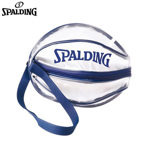 【LAKEIN運動網】║SPALDING║單顆裝籃球瓢蟲袋(藍)