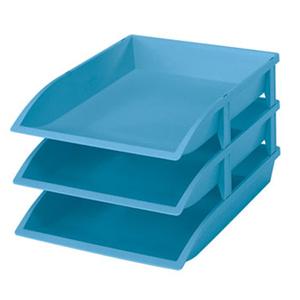 樹德SHUTER 公文分類盒OA-2736 1入藍色
