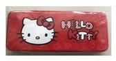 【出清特賣】Hello Kitty凸面鐵筆盒-紅款【合迷雅好物超級商城】
