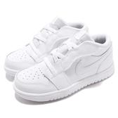 Nike Air Jordan 1 Low ALT TD 白 全白 喬丹 飛人 AJ1 童鞋 小童鞋 運動鞋【PUMP306】 CI3436-129