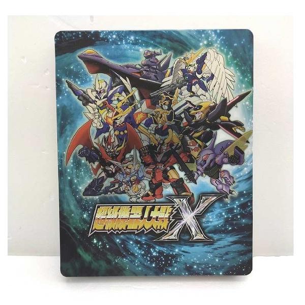 PS4遊戲特典 超級機器人大戰 X 鐵盒