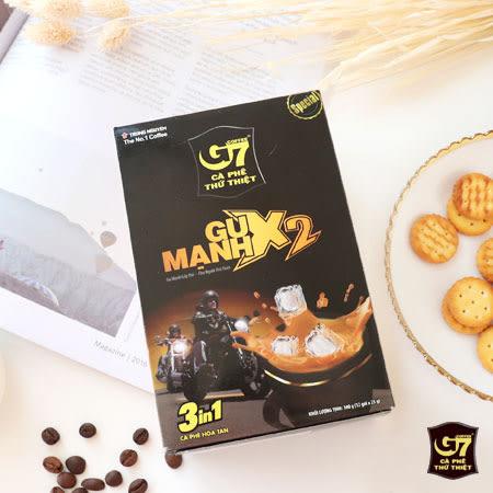 越南 G7 GU MANH X2 三合一咖啡 (盒裝) 25gx12包 即溶咖啡 咖啡 即飲 隨手包 沖泡飲品
