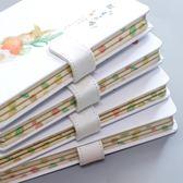 手賬本小清新創意可愛彩頁插畫手帳筆記本