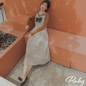 洋裝 RCha。小香風蝴蝶結無袖長洋裝-Ruby s 露比午茶
