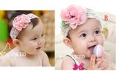 韓版髮帶 一朵鮮花 寶寶公主髮帶 嬰幼兒髮箍