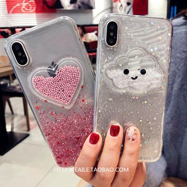 【SZ34雲朵愛心笑臉 iphone XS MAX手機殼 iphone XR XS手機殼 iphone 8plus手機殼 i6s plus手機殼 iphone X
