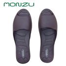【monzu】滿足零著感室內拖-深褐色