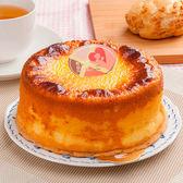 【樂活e棧】母親節造型蛋糕-岩燒起司蜂蜜蛋糕(6吋/顆,共1顆)