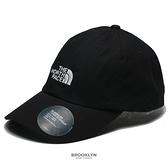 THE NORTH FACE 黑色 老帽 白LOGO 基本款 (布魯克林) NF0A3SH3JK3