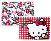 【卡漫城】Hello Kitty A4 資料袋二入一組㊣版凱蒂貓文件夾夾鏈袋檔案夾收納袋名片套