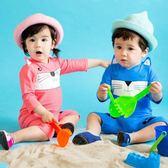 618好康鉅惠女童連體泳衣男童寶寶泳褲防曬長袖泳裝