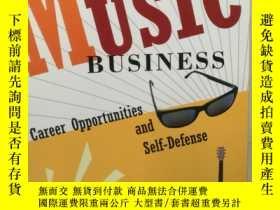 二手書博民逛書店The罕見Music Business:Career Oppor