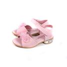 小女生鞋 涼鞋 花朵 粉紅色 童鞋 926 no211