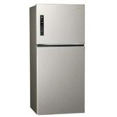 Panasonic 國際牌650公升雙門變頻冰箱 NR-B659TV-S(銀河灰)