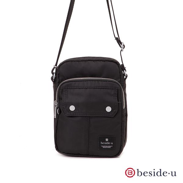BESIDE-U Apex輕量隨身手機斜背包-黑